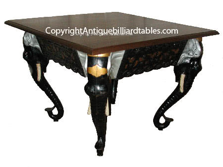 Antique C.G. Akam Cast Elephant Reading Room Table