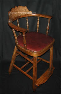 Antique J. J. Kohn Billiard Chairs