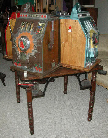 Antique R Rothschilds Poker Table